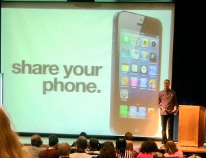 Eric Stoller's digital identity presentation at Kent State University.